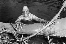 Creature From The Black Lagoon 11x17 Mini Poster Gill Man By Log In Water