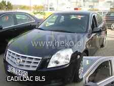 CADILLAC BLS 4-portes 2006-2009 Deflecteurs de vent 2-pièces HEKO Bulles