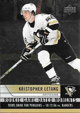06/07 Upper Deck Rookie Game Dated Moments Insert #RGD23 Kristopher Letang
