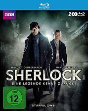 2 Blu-rays * SHERLOCK - SEASON / STAFFEL 2 # NEU OVP WVG