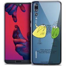 """Coque Crystal Gel Pour Huawei P20 PRO (6.1"""") Souple Les Shadoks® Le Dialogue"""