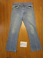 vintagev levi's polyblend  517 usa grunge jean meas 36x32 V5522