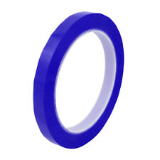 12mm Width 66M Length Single-side Position Sign Sticker Marking Tape Blue