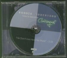 ROBBIE ROBERTSON He Don't Live Here No More 1 TRACK USA PROMO CD SINGLE