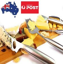 NEW Cheese Knife Set 4Pcs Stainless Steel in gift box Kitchenware Cheese Knives