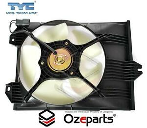 Air Condenser Thermo Cooling Fan Assembly For Mitsubishi Mirage CE 1996~1998
