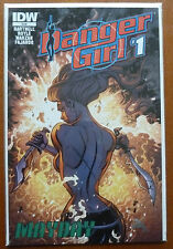 "DANGER GIRL ""MAYDAY"" #1..ANDY HARTNELL..JOHN ROYLE..IDW 2014 1ST PRINT..VFN+"