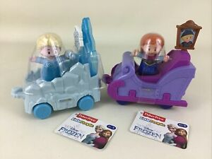 Little People Disney Princess Parade Frozen Anna & Elsa Floats 2019 Mattel New