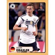 PANINI WM 2018 50 Sticker scegliere World Cup 18 GLITTER McDonalds