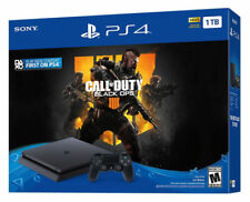 Sony PlayStation 4 1TB Call of Duty: Black Ops 4 Console Bundle - Jet Black