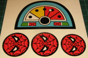 Remco Spiderman Helicopter & Webtrap Replacement Decals