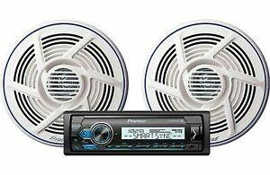 """Pioneer MXT-MS316BT Marine Digital Media Player Bluetooth +TS-MR1600 6.5"""" Spkrs"""