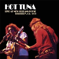 HOT TUNA - LIVE AT NEW ORLEANS HOUSE,BERKELEY 1969   CD NEUF