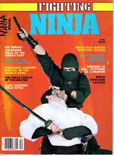 FIGHTING NINJA Martial Arts Special Magazine Middle East, Knife, Handgun Tactics