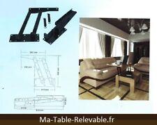 Vérin de table basse relevable - extensible - pliable avec le M09