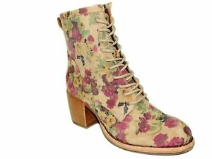 Patricia Nash Women's Sicily Leather Boots Antique Rose Size 6 M