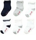 Hanes Childrens / Toddler Boys 6-Pack Crew Socks Size 2T-3T BUY MORE  SAVE 10