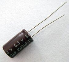 1500uf 6.3v 105c basso ESR Taglia 20mmx10mm Panasonic EEUFC 0J152 x10pcs