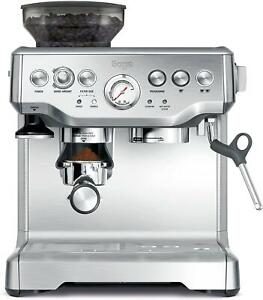 Sage The Barista Express BES875UK Bean to Cup Coffee Machine Silver Kitchen~~
