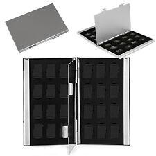High Metal Aluminum Micro SD TF Memory Card Storage Box Holder Case Protector
