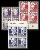 Germany GDR LOT Sc 123 128 134 BL4 mint NH 265 to 70 272 to 277 SEE SCAN FVF