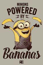 Poster MINIONS - Powered By Bananas (Despicable Me) ca60x90cm NEU 58480 MO3
