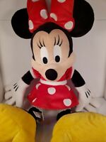 """Disney Parks 20"""" Inch Minnie Mouse Plush Toy Stuffed Animal Classic Red Dress"""