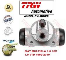 FOR FIAT MULTIPLA 1.6 16V 1.9 JTD 1999-2010 1x REAR AXLE WHEEL BRAKE CYLINDER