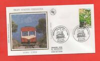 FDC - Train Ajaccio Vizzavona - 1896-1996   (390)