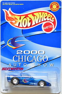 HOT WHEELS 2000 CHICAGO AUTO SHOW CORVETTE C6