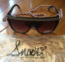 Women Sunglasses With Chain Style By Snooki Nicole Polizzi Free Shipping #200