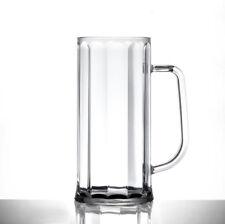 Bierglas Bierkrug  6 x 0,5L GASTRO Plastik Mehrwegbecher unzerbrechbar Bierseidl