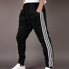 Men sportswear Pants Casual Elastic Cloth Mens Fitness Workout Loose SweatpantLA