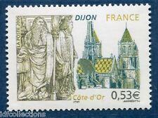 Variété 3893 Yvert ou 3879a Maury , Dijon sans le brun foncé. cote: 250€