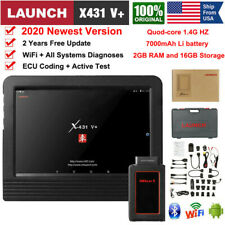 2G RAM 7000mAh LAUNCH X431 V+ Car Scan Tablet Auto Diagnostic Tool Active Test