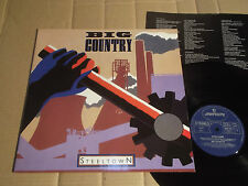 BIG COUNTRY - STEELTOWN - LP - MERCURY 822 831-1Q - GERMANY 1984