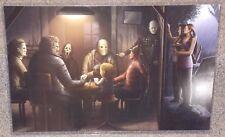 Horror Villains Glossy Art Print 11 x 17 In Hard Plastic Sleeve