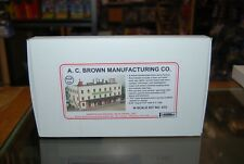 N Scale AMB Wood Laserkit 615 * A.C. Brown Manufacturing Company