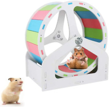 New listing Hamster Exercise Wheels, 8.2 Inch Silent Hamster Exercise Wheel, Cage Activity A