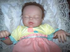 """ASHTON DRAKE / VIOLET PARKER SO TRULY REAL 17 INCH DOLL  """"BABY OF MINE"""""""