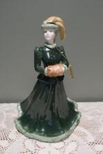 Coalport Ladies Of Fashion Figurine - Hand Painted - Harmony - Large - Vgc