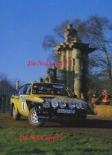 Walter Rohrl OPEL KADETT GT/E Lombard RAC Rally 1975 fotografia 1