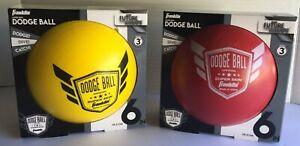 "Franklin Sports 6"" Superskin Dodgeball Indoor & Outdoor *NEW* lot of (2)"