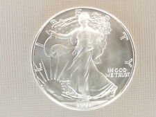 1991 Silver Dollar Coin ~ 1 troy oz AMERICAN EAGLE ~ Walking Liberty .999 Fine