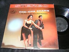 Classic Cover CHA CHA CHARM Jan August LP STEREO Mercury Banner Clean LATIN 60s