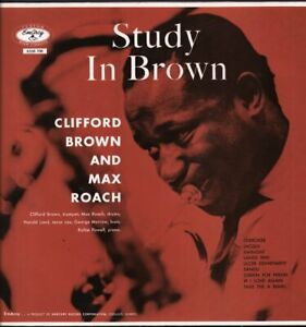 CLIFFORD BROWN AND MAX ROACH Study In Brown LP VINYL Netherlands Emarcy 1982 9