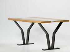 Massivholztisch Massiv Holz Glas Tisch Esstisch Esszimmertisch Küchentisch Holzt