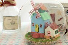 50% off ~DIY  Miniature Dollhouse in Mini Glass Ball, (B-007), Wind Fantasy