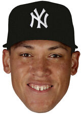 New York Yankees Rookie Of The Year AARON JUDGE Full Head - WindoCling Decal NEW