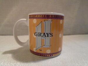 The Negro League Homestead Grays Baseball MLB Coffee Mug Cup Cool Papa Bell